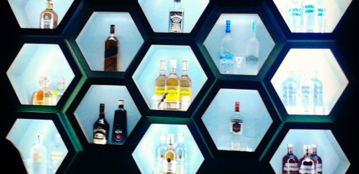 Honeycomb bar at Zinc.