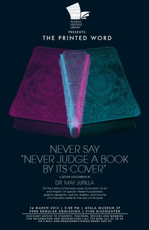 Never Say 'Never Judge a Book by Its Cover'