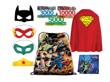 World of DC All Star Fun Run freebies