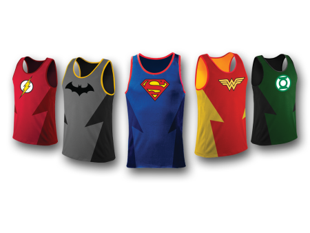 World of DC All Star Fun Run singlets