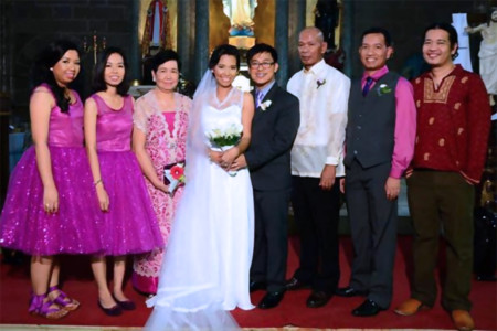 Family portrait, Maia's wedding.