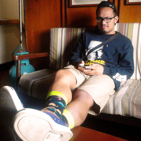 Rodj in Baguio Village Inn.