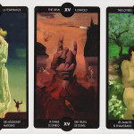 #TarotMonkey Weekly Reading: Temperance, the Devil, the Lovers.