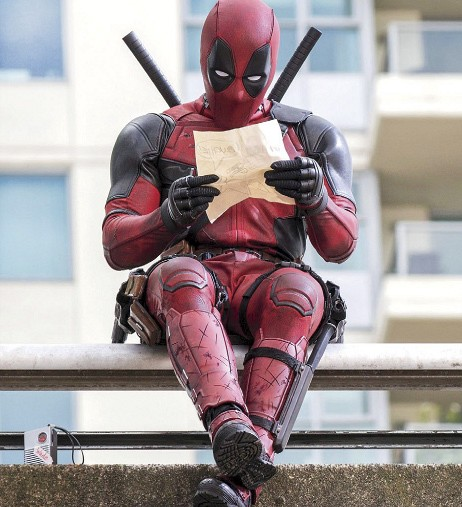 Deadpool movie still